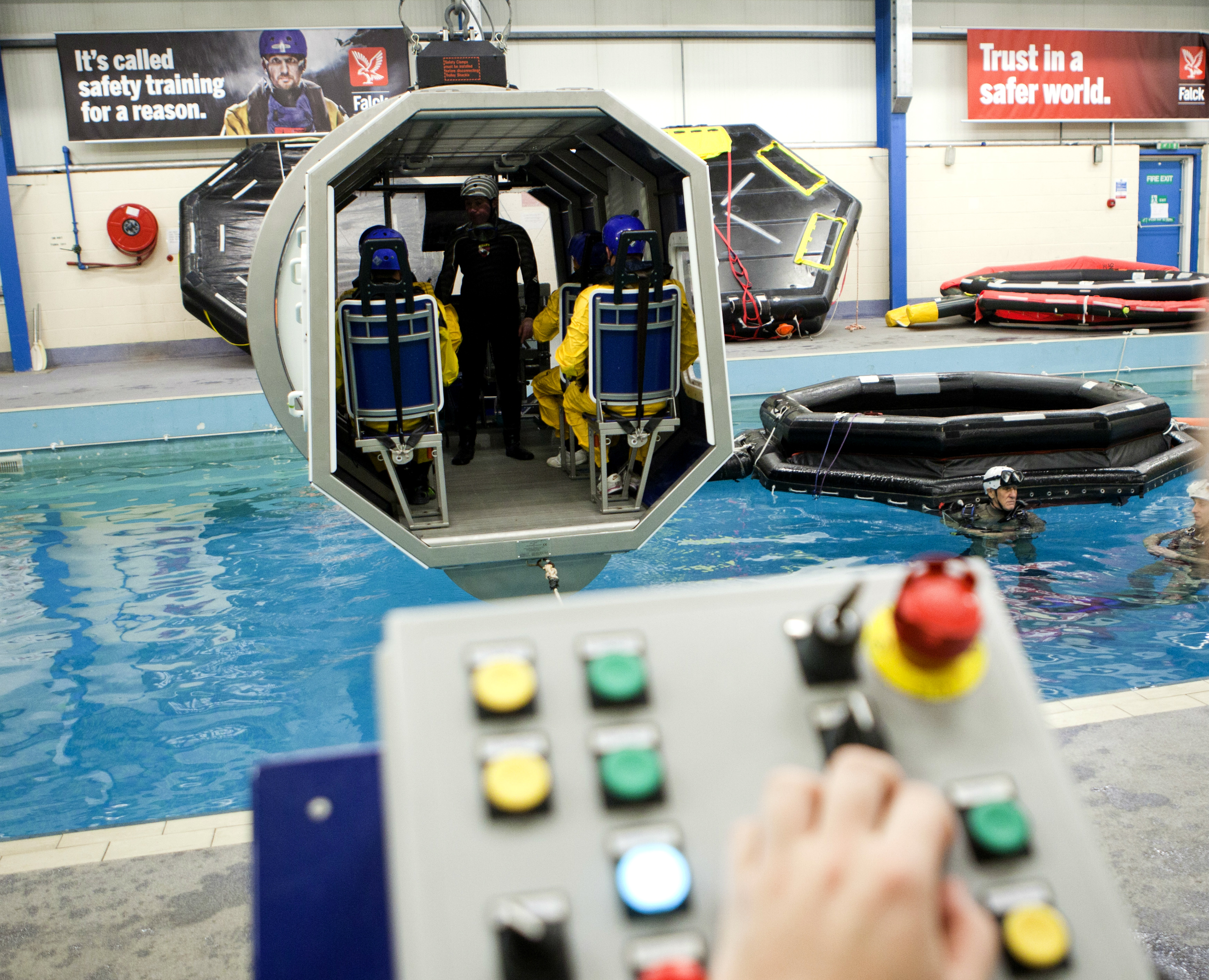 UKAS : Leading the way in offshore safety and survival training