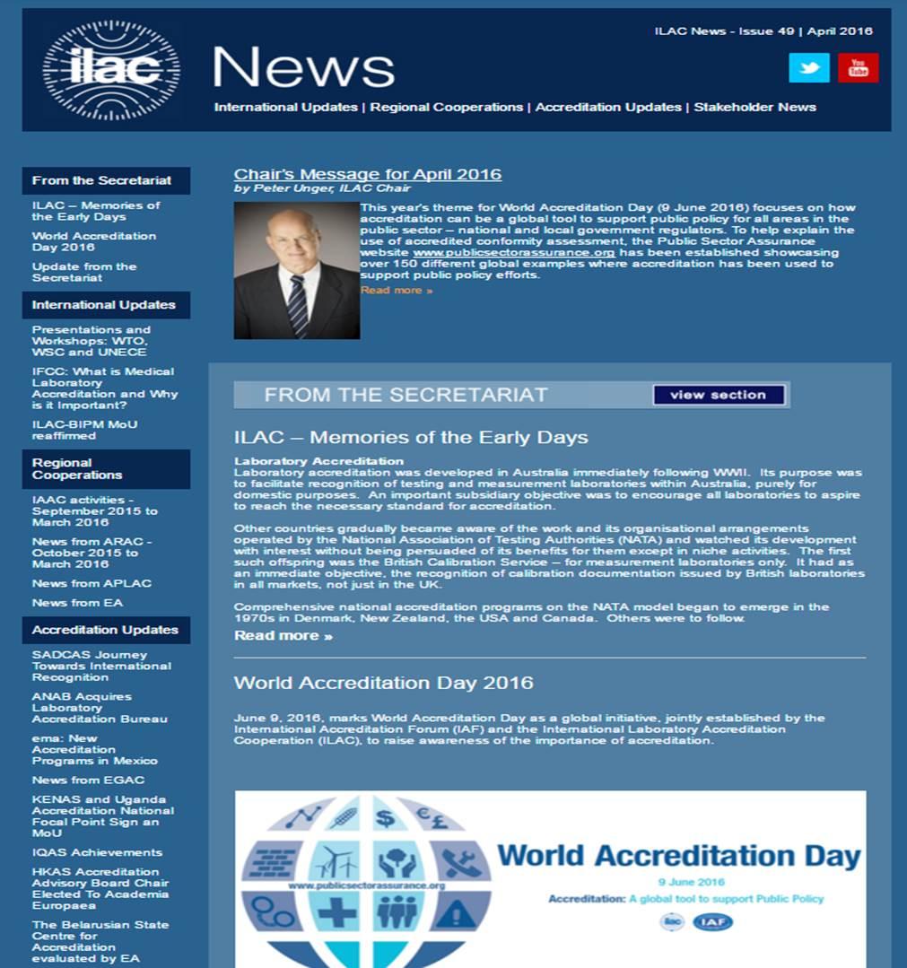 ILAC News