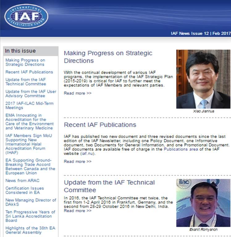 IAF News
