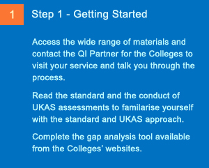 Imaging Steps to Accreditation - Step 1 - Getting Started