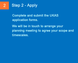 Imaging Steps to Accreditation - Step 2 - Apply