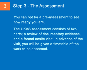 Imaging Steps to Accreditation - Step 3 - The Assessment